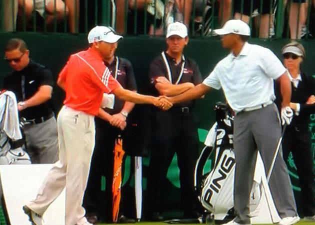 Tiger, Sergio y la mano de la paz