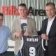 El Bilbao Basket presenta al escolta let�n Dairis Bertans