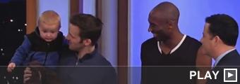 Titus y Kobe Bryant