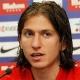 Filipe Luis viaj� a Madrid para conocer a su hijo