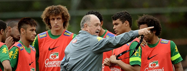 Scolari blinda a la selecci�n brasile�a