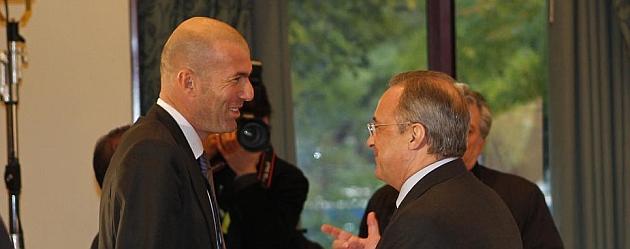 Florentino y Zidane se re�nen para dar forma a la plantilla