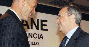 Florentino y Zidane se reúnen para dar forma a la plantilla