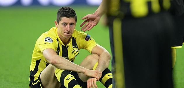 Lewandowski, tras perder la final de la Champions / AFP