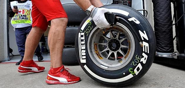 Pirelli suspende los cambios en sus neumáticos