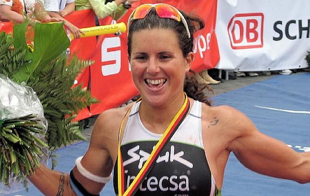 Virginia Berasategui, positivo en el control antidopaje del Bilbao Triathlon