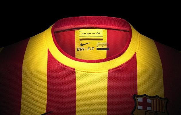 920ecd861fd57 El Barça lanza su camiseta  Senyera  este miércoles a las 23.00 horas