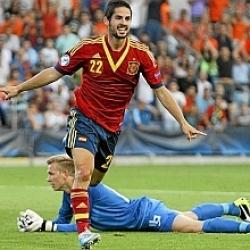 Italia - España: España ronda los dos euros por su cuarta Eurocopa