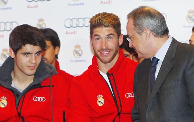 Morata: Me ha dicho el 'presi' que me quedo en el Real Madrid