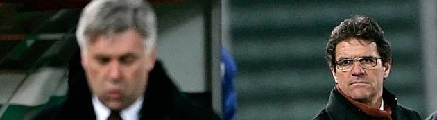 La breve historia de la enemistad entre Capello y Ancelotti