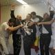 La fiesta del Real Madrid en los vestuarios... con Florentino Pérez