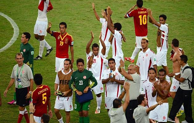 Tahití, campeones por un día
