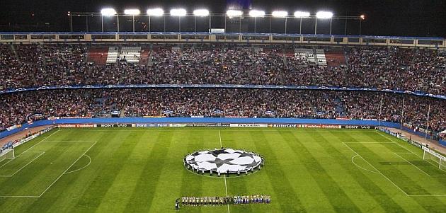 El Atlético ya juega la Champions