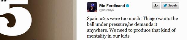 Uno de los capitanes del Manchester United da el visto bueno al fichaje de Thiago