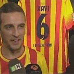 Locura por la 'Senyera' del Barça