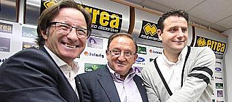 Anquela llega a Soria para transmitir la ilusión por crecer