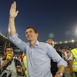 Xavi Gracia: El Almería merecía este ascenso a Primera