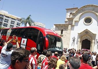 El Almería de Primera división ya se ha puesto en marcha