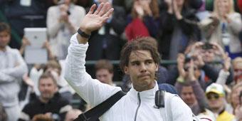 Nadal se despide de Wimbledon a las primeras de cambio