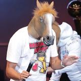 Un caballo en la fiesta de los Heat