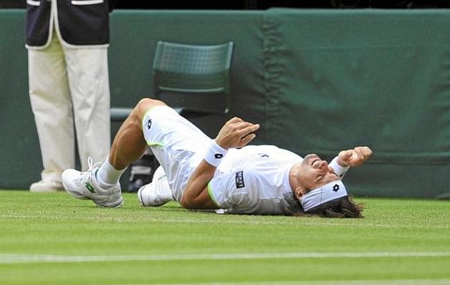 Ferrer: Tuve algo de dolor en el tobillo