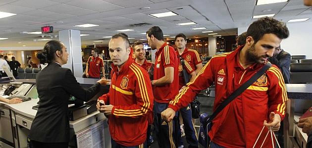 España ya está en Río de Janeiro