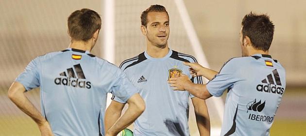 Ramos y Piqué no se ejercitan con el grupo