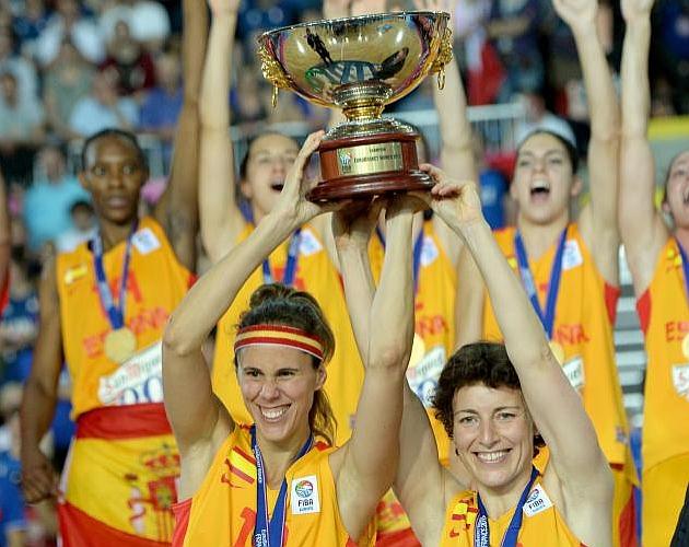 El Eurobasket, el mejor premio en la despedida de Valdemoro y Aguilar