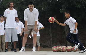 La NBA, solidaria en China
