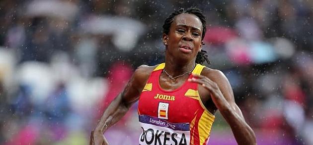 Bokesa: Seguiré en los 400 metros por lo menos hasta Río