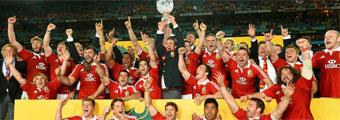 Los Lions conquistan Australia