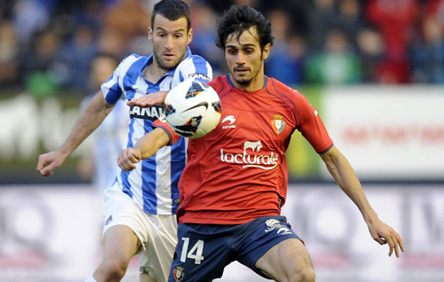 Osasuna no vende a Arribas al Sevilla, pero le pide a Cala