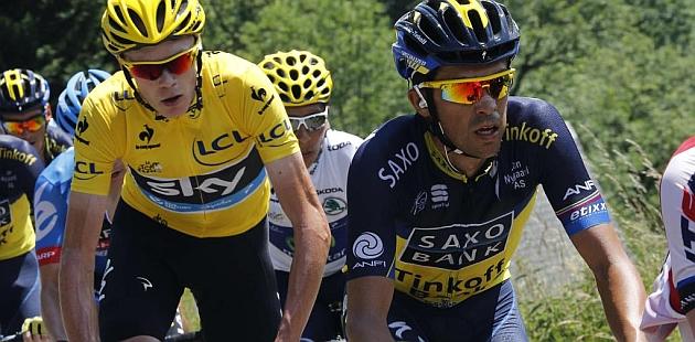 Contador: En la crono parto con desventaja sobre Froome