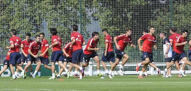 El Athletic jugará dos amistosos en la concentración de Austria