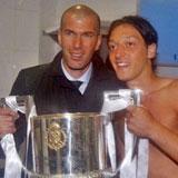 Zidane y Özil