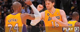 Pau Gasol: Ahora mismo Kobe es mi mejor amigo en la NBA