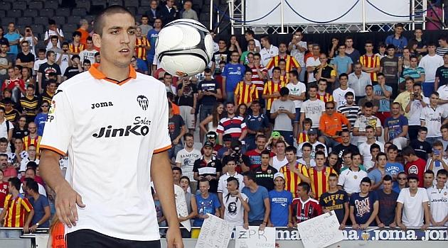 Romeu: Llevaba mucho tiempo queriendo venir al Valencia
