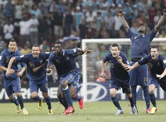 Los penaltis coronan a Francia y condenan a Uruguay
