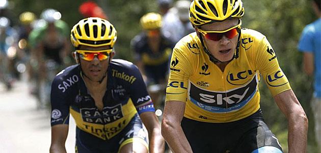 Contador tomará la salida a las 16:27 horas
