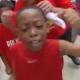 Un ni�o pide respeto a Shaquille para Houston y le canta las cuarenta