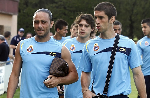 Sergio García, Forlín, Capdevila y Javi López, capitanes