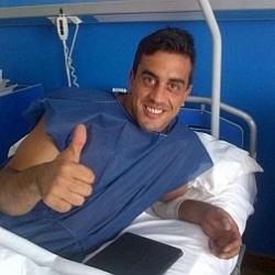 Ifrán, operado con éxito de la rodilla