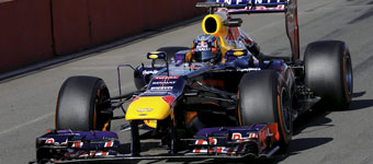 Sainz Jr. se sube al Red Bull