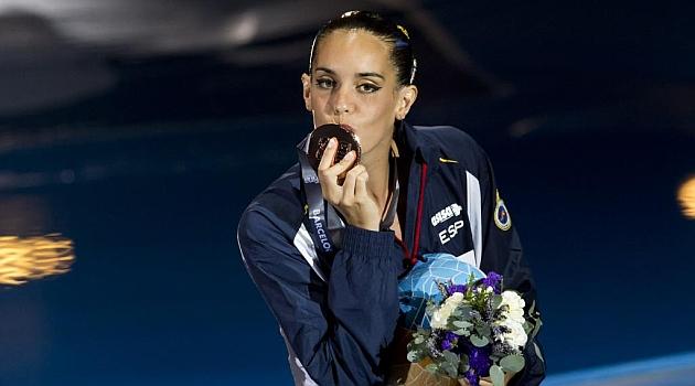 Ona Carbonell estrena el medallero español