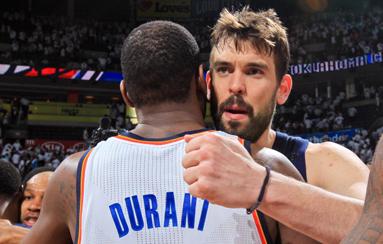 Marc Gasol y Kevin Durant entran en escena para convencer al m�s deseado de la NBA, Mike Miller