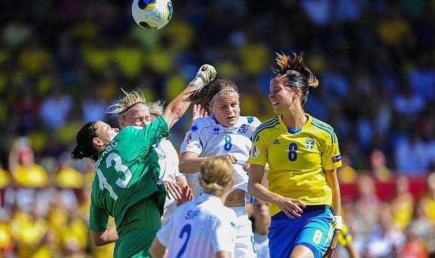 Alemania-Suecia, primera semifinal de la Eurocopa femenina