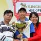 Ganador del abierto de Hua Hin ¡con 14 años!