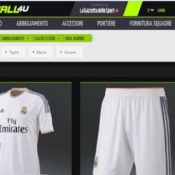 La Gazzetta dello Sport lanza una tienda online de fútbol