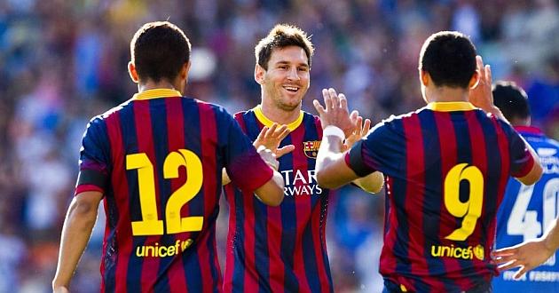 Messi y Alexis se lucen para el 'Tata' Martino