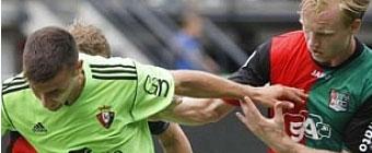 Osasuna se va de Holanda sin conocer la victoria
